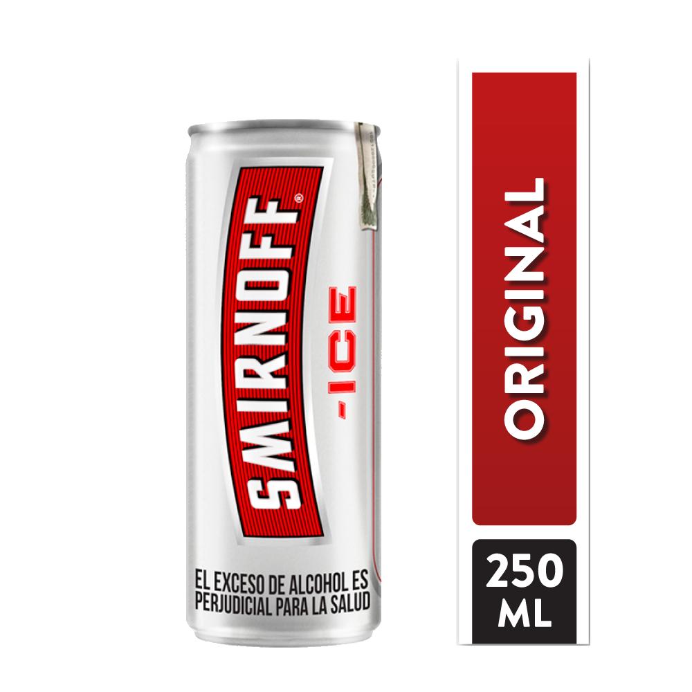 Vodka Smirnoff Ice Lata 250 Ml