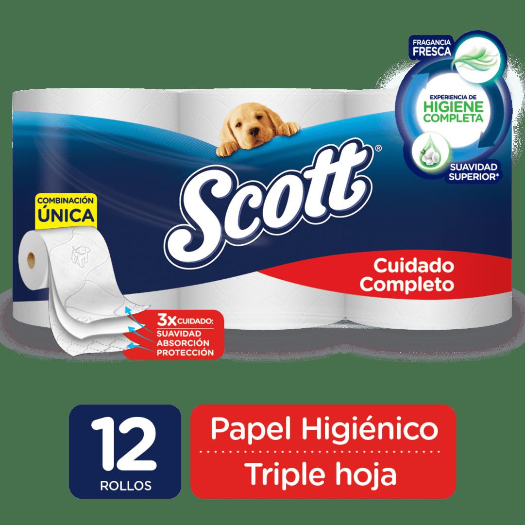 Papel Scott X 12 Cuidado Completo 424 M