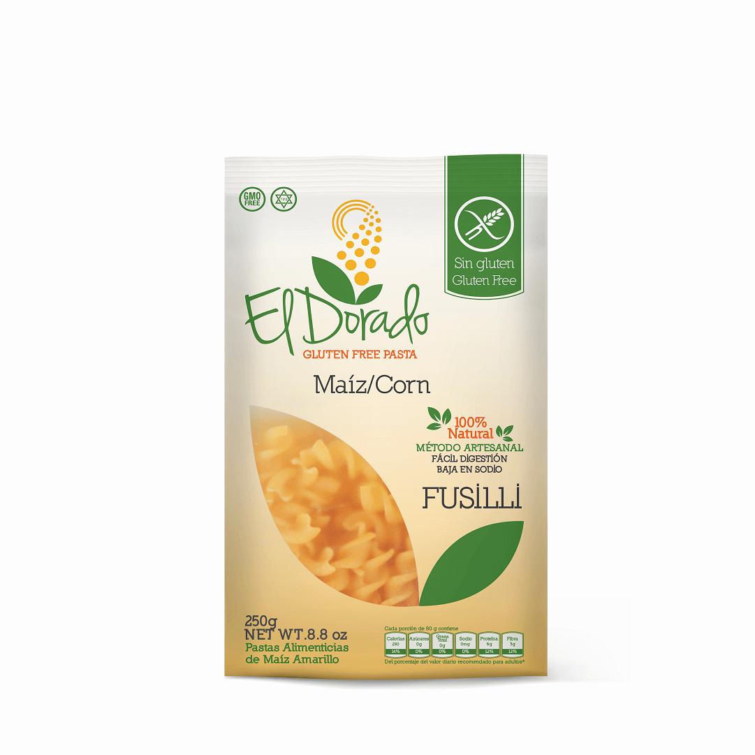 Pasta De Maíz El Dorado Fusilli 250 G