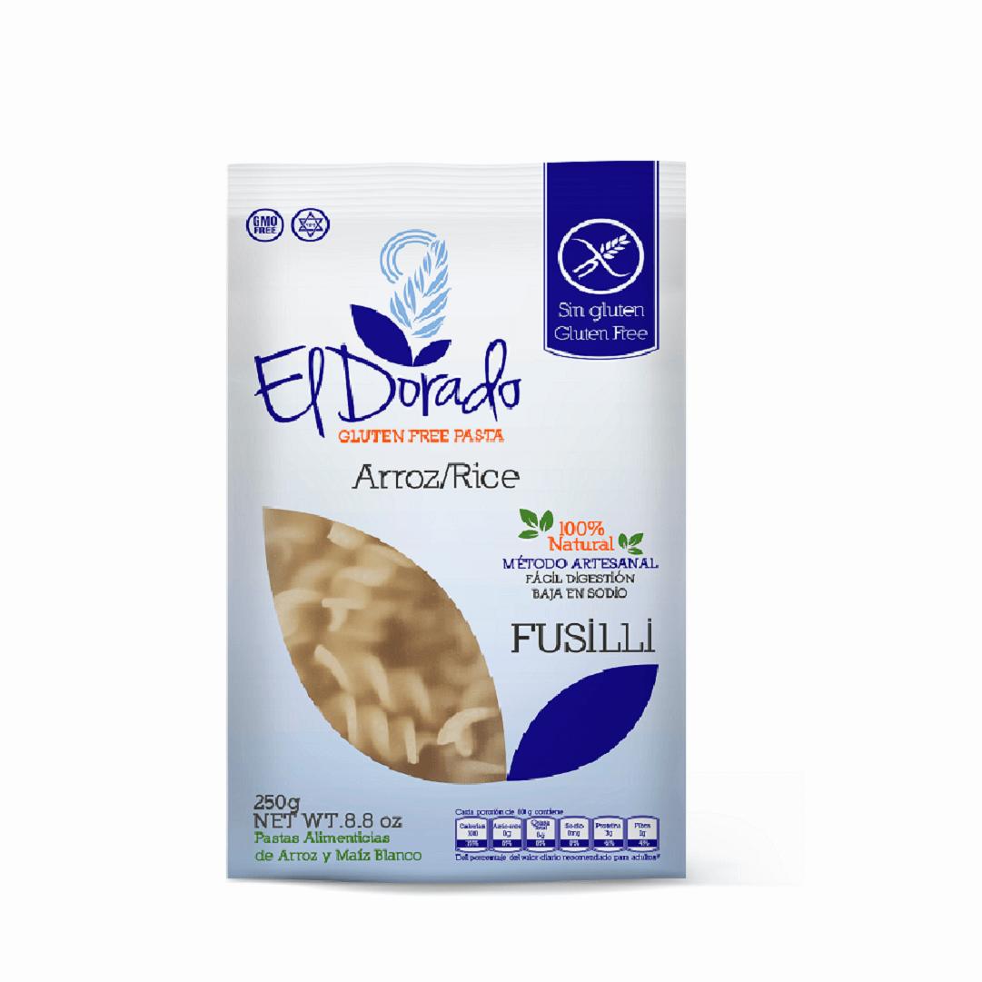 Pasta De Arroz El Dorado Fusilli 250 G