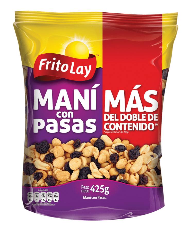 Maní Frito Lay Con Pasas 425 G