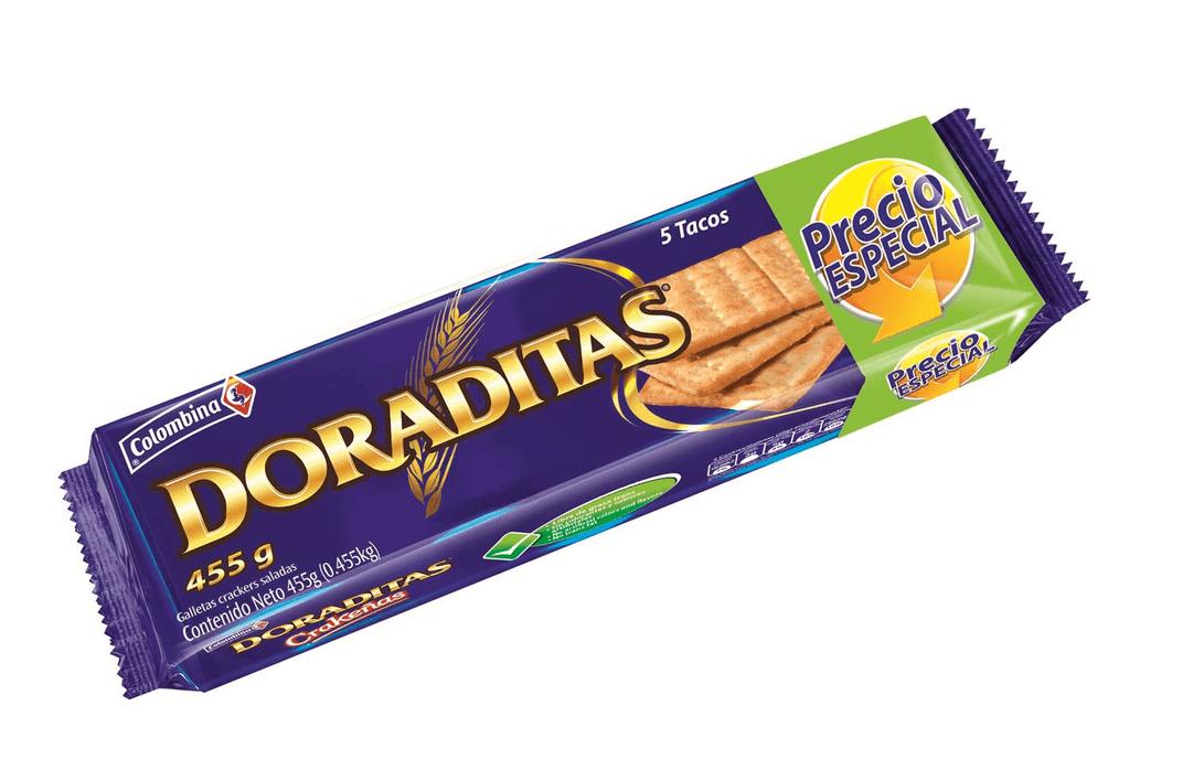 Galleta Crakeñas Doradita 5 Tacos 455 G