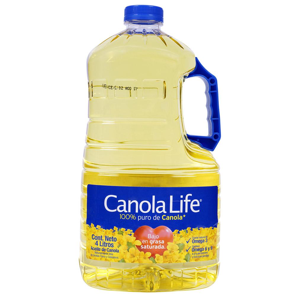 Aceite Canola Life 4000 Ml