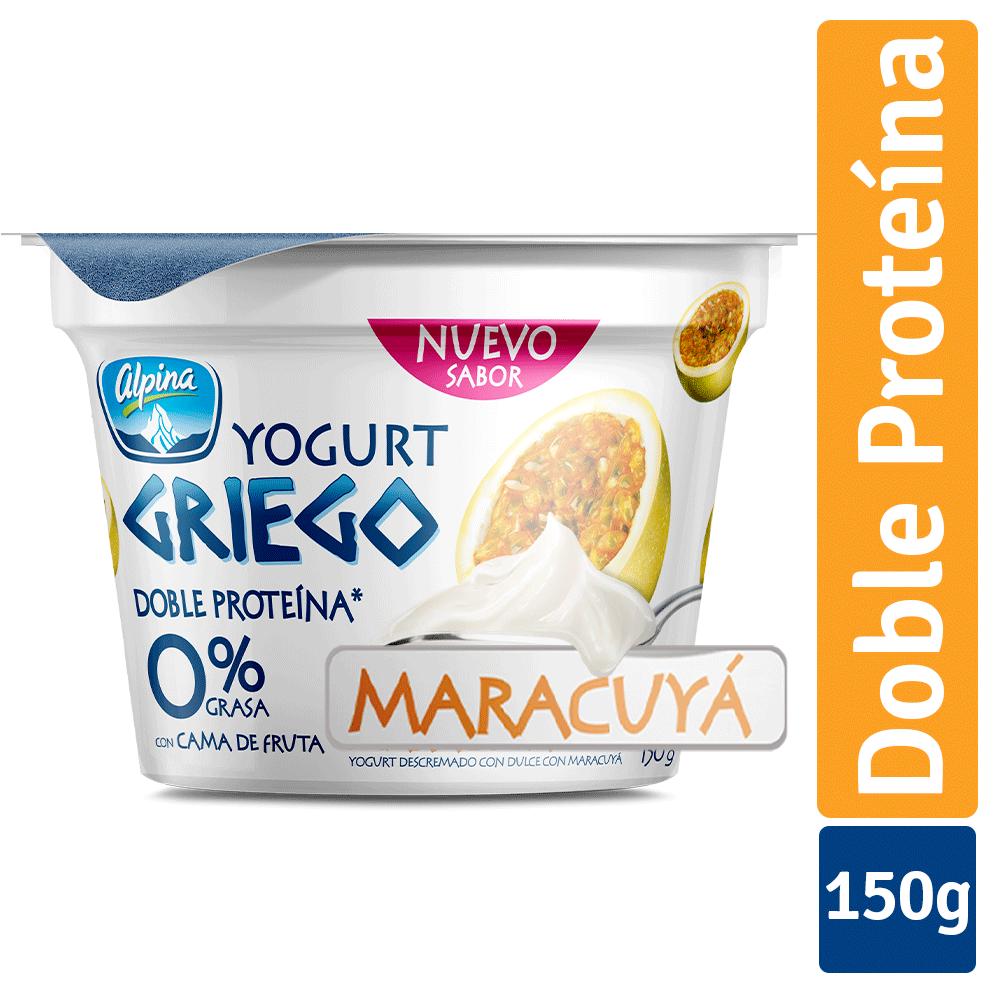 Yogurt Griego Maracuyá Vaso 150G