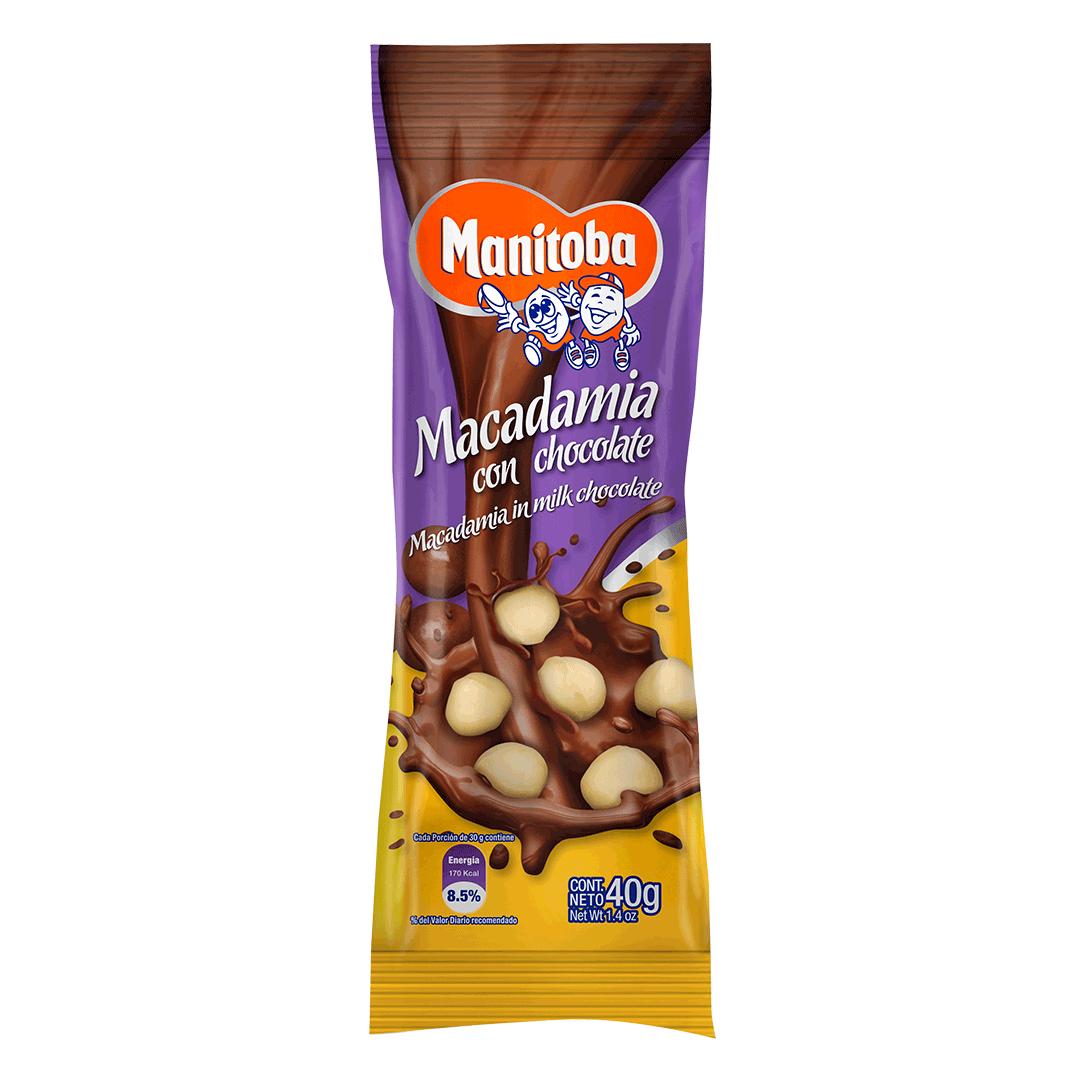 Macadamia Manitoba Chocolate 40 G