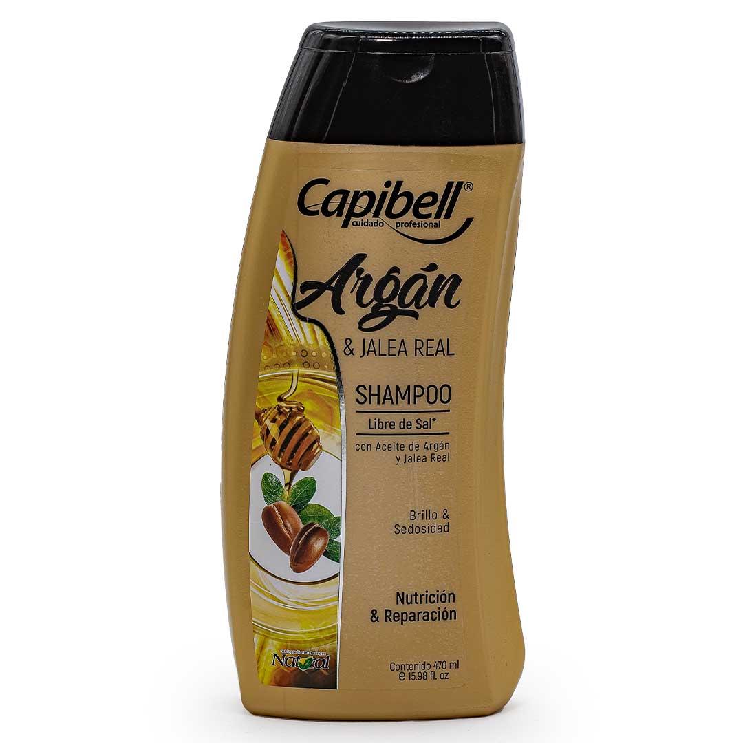 Shampoo Capibell Aceite De Argán 470 Ml