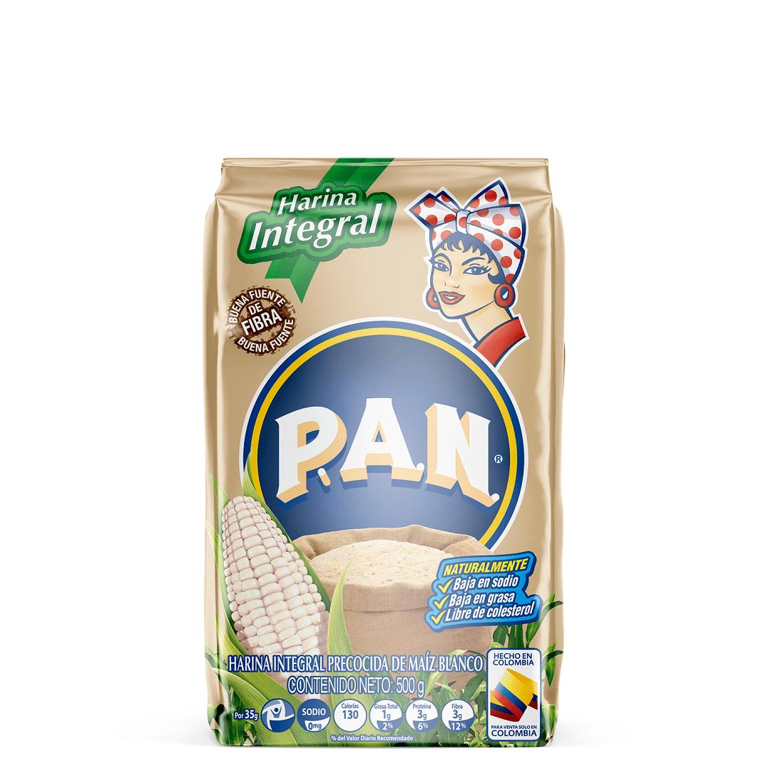 Harina Pan Integral Blanca 500 G