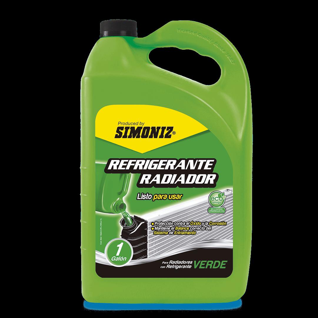 Refrigerante Radiador Verde Qualitor 3780 Ml
