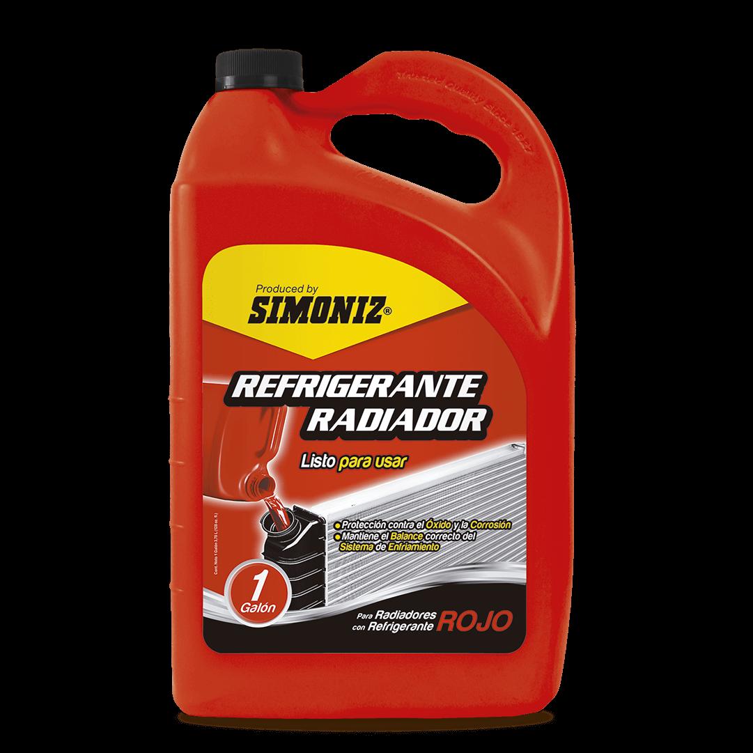 Refrigerante Radiador Naranja Qualitor 3780 Ml