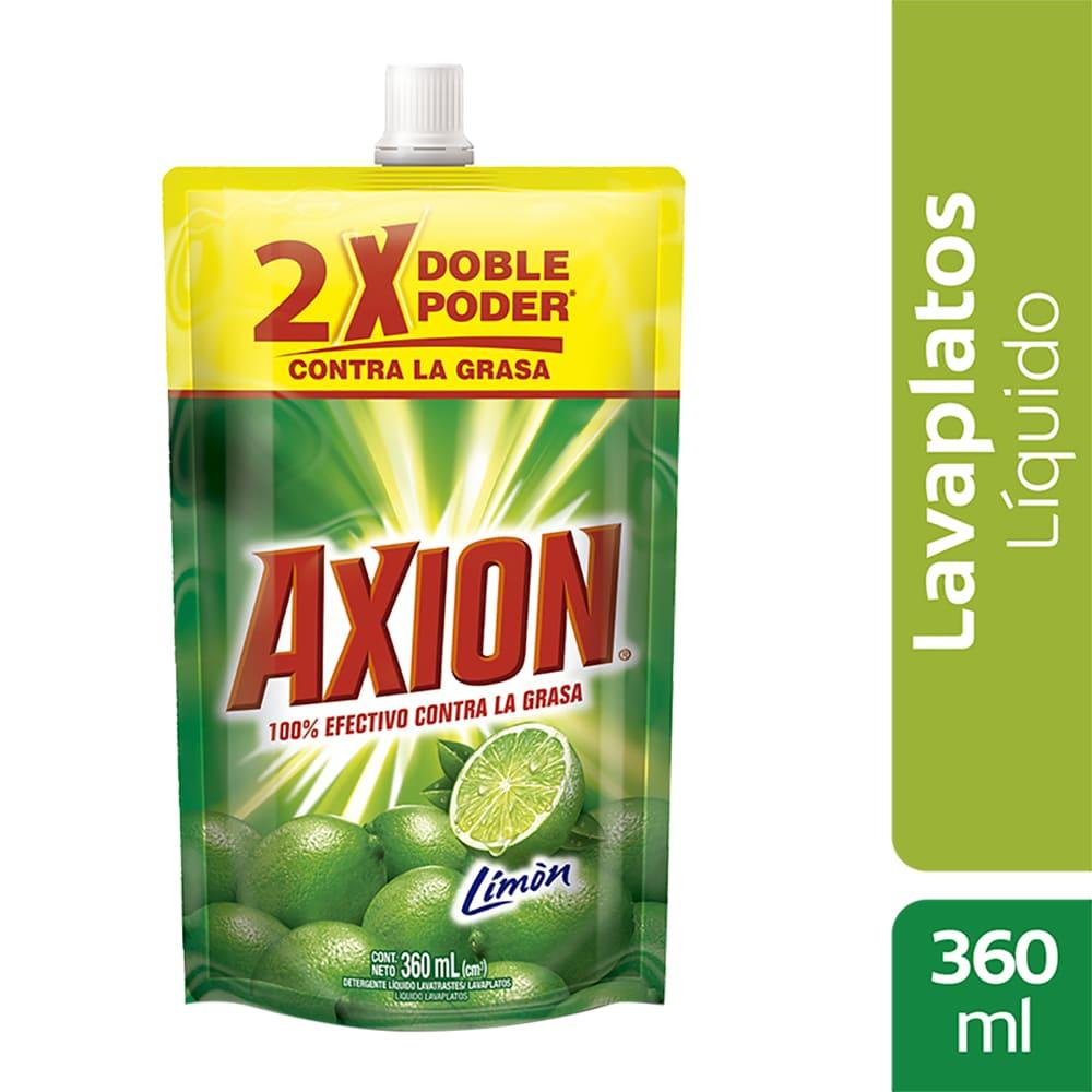 Lavaplatos Axión Limón Líquido 360 Ml