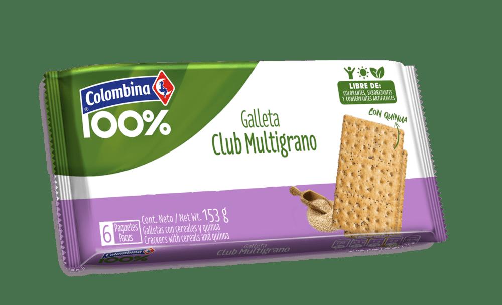 Galletas Crakinua Club Integral Quinua 255 G
