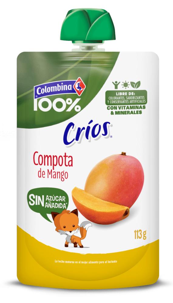 Compota Colombina Mango Doypackp 113 G
