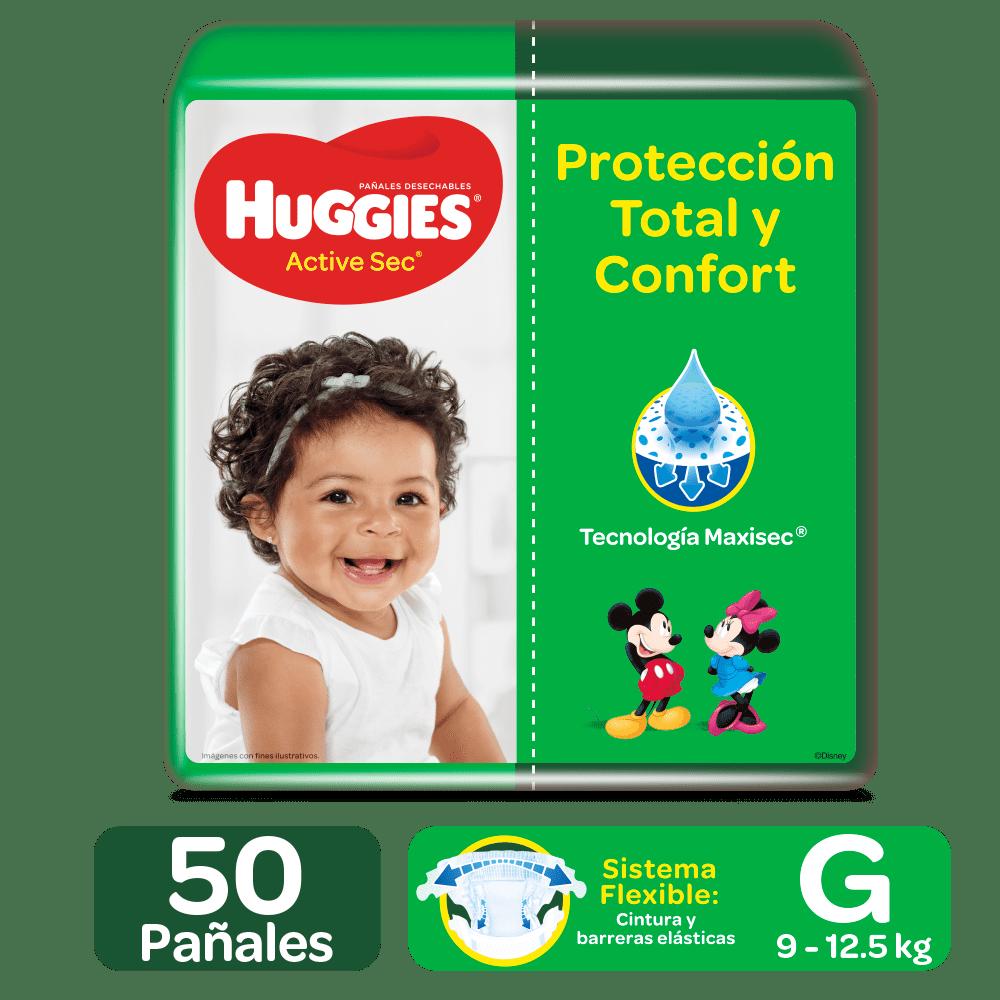 Pañal Huggies Active Sec Etapa 3 G 50 Und
