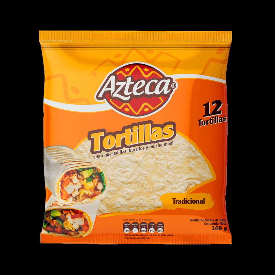 Tortilla Azteca 12 Und Fajita 360 G