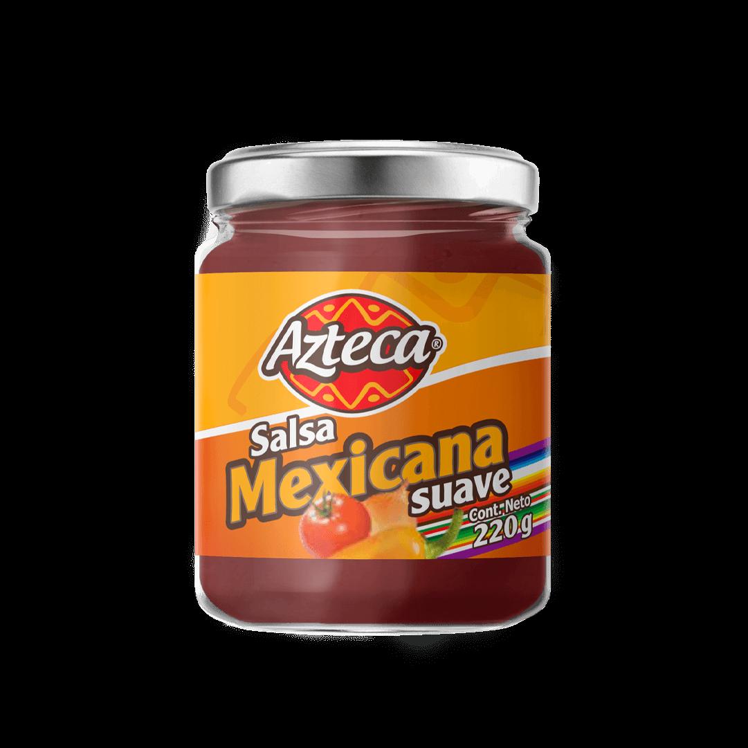 Salsa Azteca Mexicana Suave 220 G