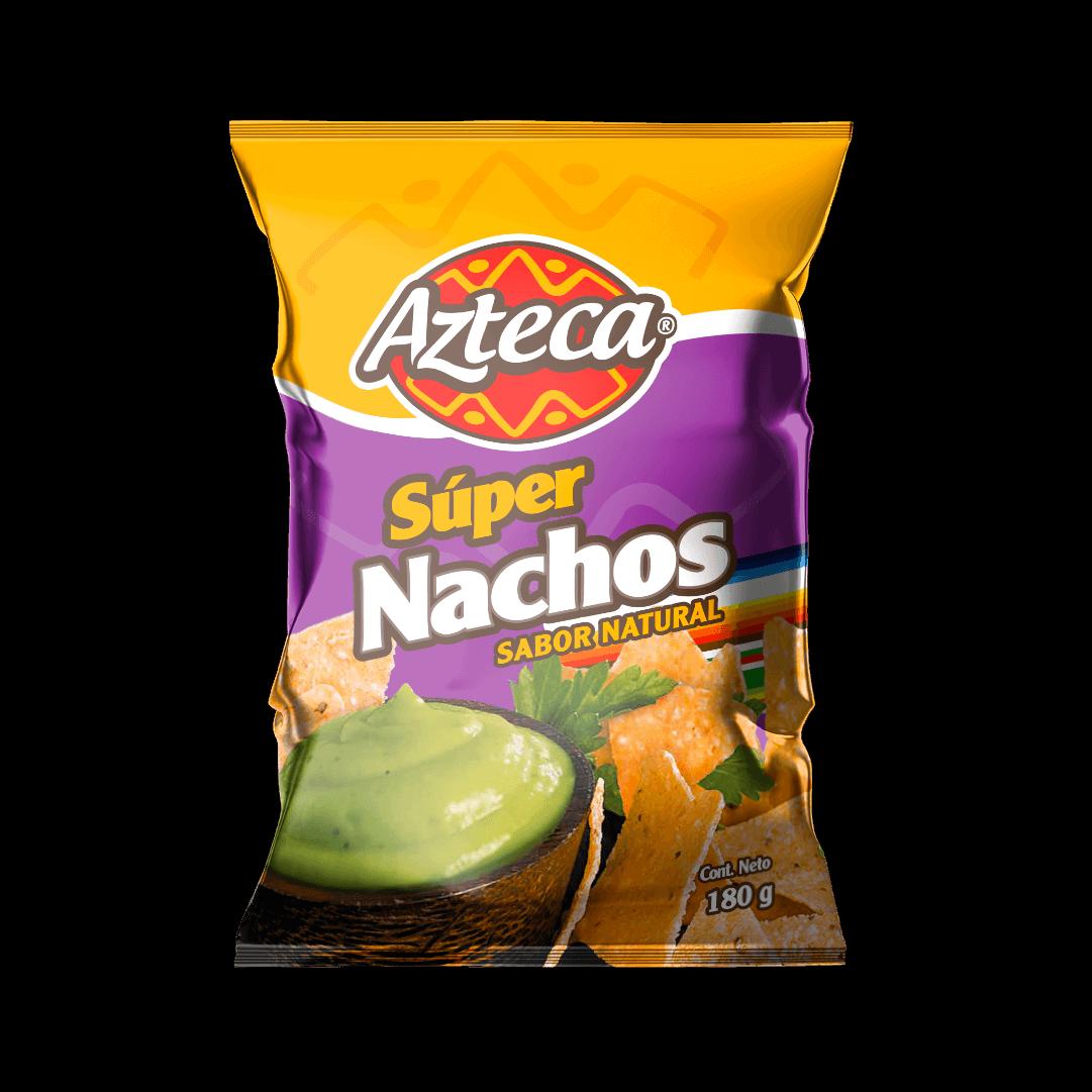 Súper Nachos Azteca Natural 180 G
