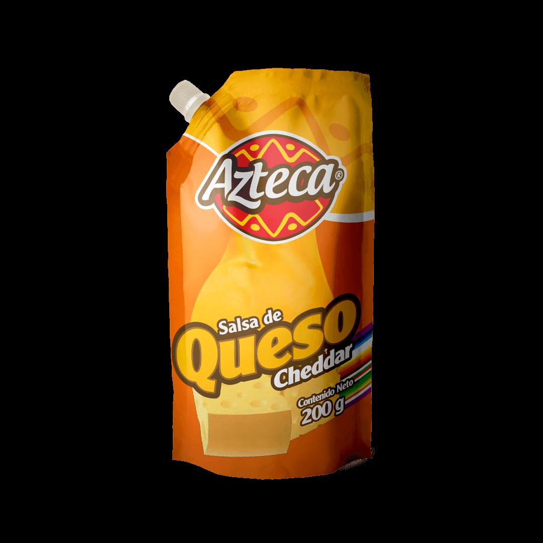 Salsa Cheddar Azteca Doypack 200 G