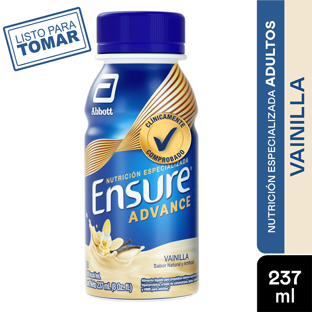 Ensure Advance Liquido Vanilla 237 Ml