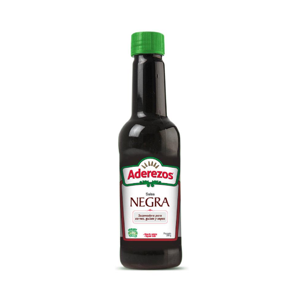 Salsa Negra Aderezos 200 G