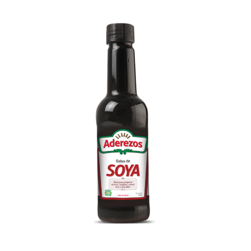 Salsa Soya Aderezos 210 G