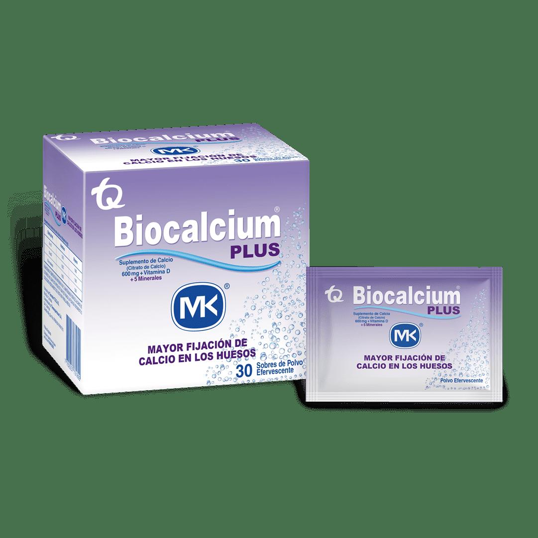 Biocalcium Plus Mk Sobres 30 Und