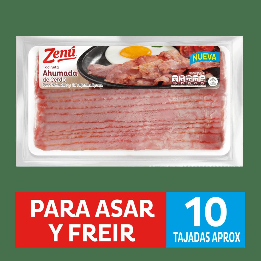 Tocineta Zenú Bolsa 200 G