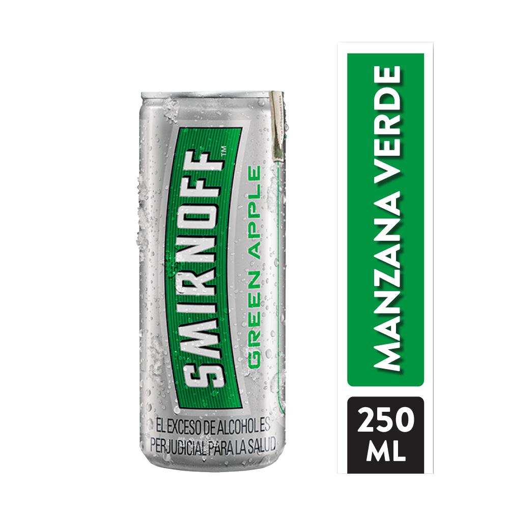 Vodka Smirnoff Ice Green Apple 250 Ml