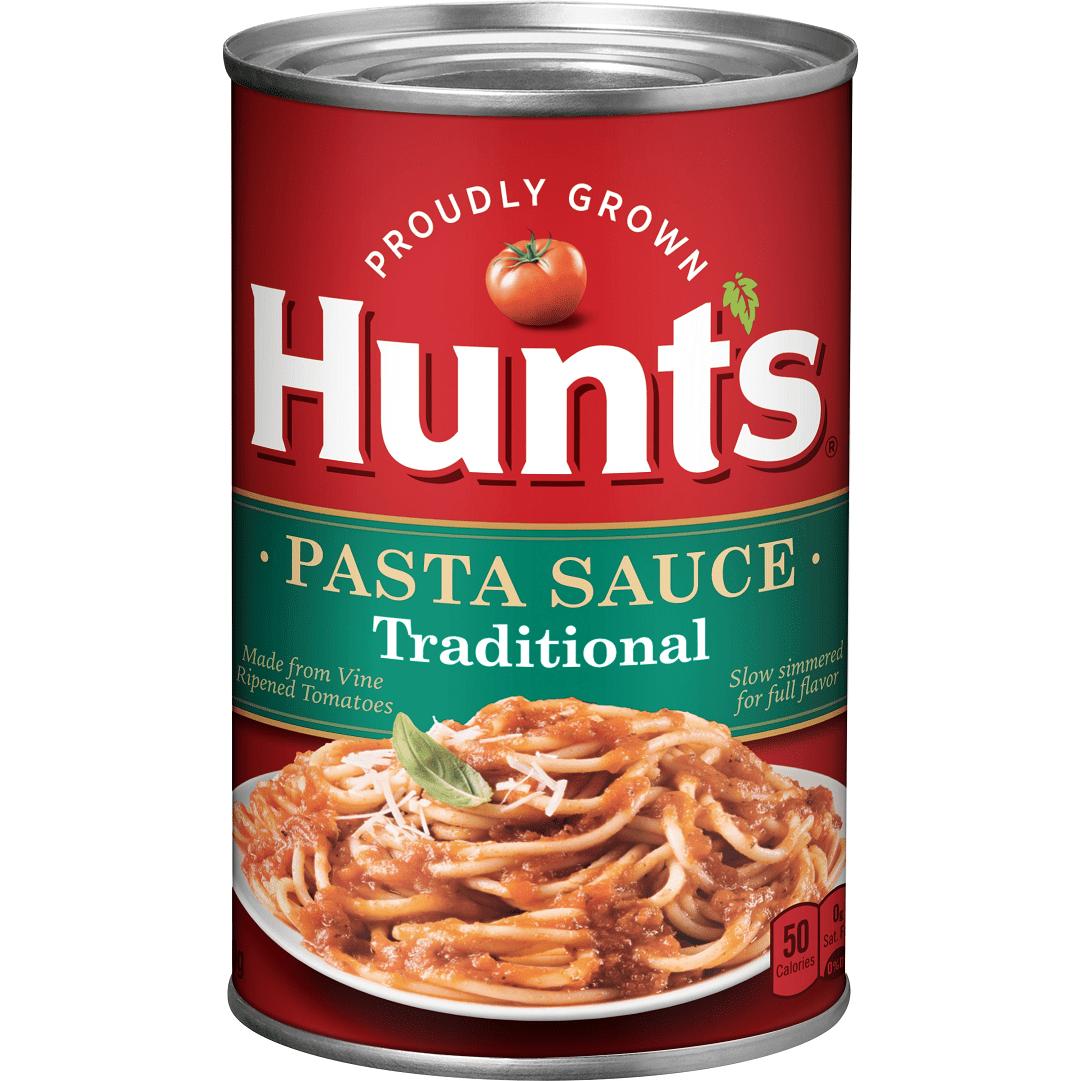 Salsa Pasta Hunts Tradicional 680 G