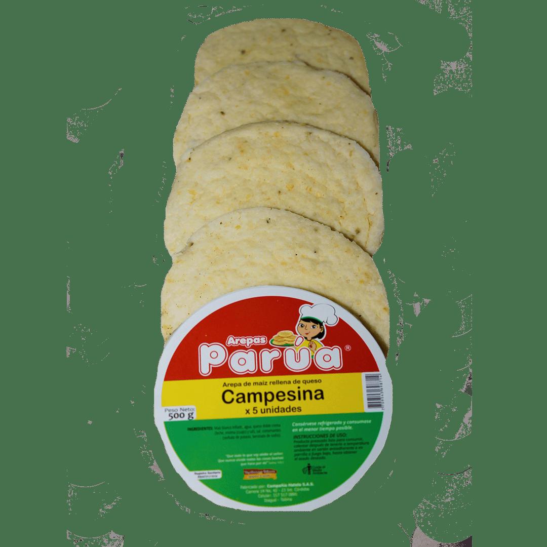 Arepa Parua Campesina X 5Und /500 G