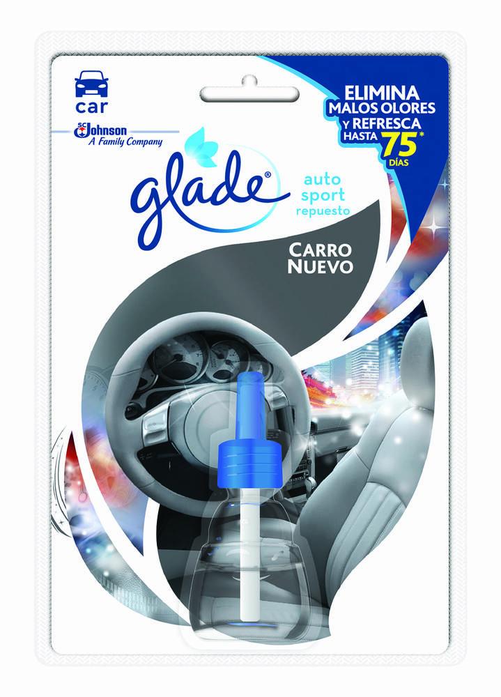 Ambientador Glade Autosport Carro Nuevo Repuesto