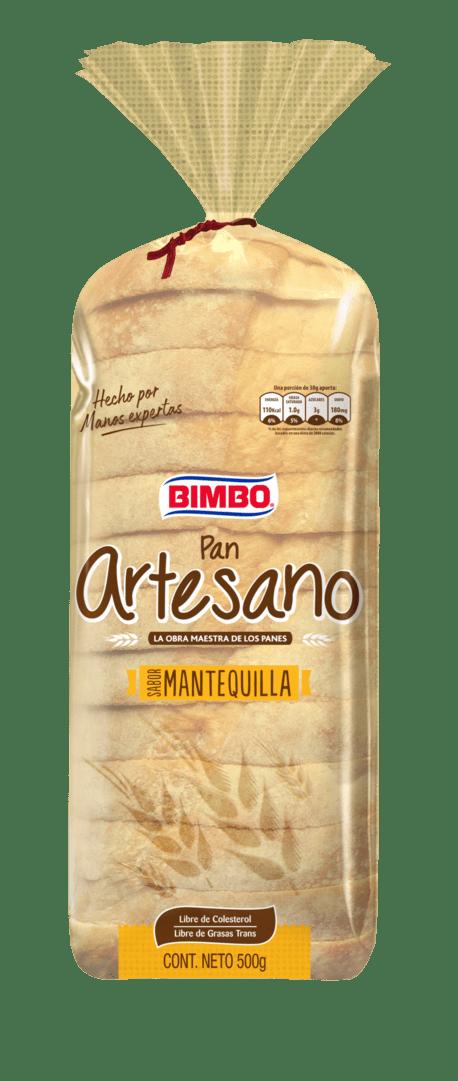 Pan Bimbo Artesano 500 G