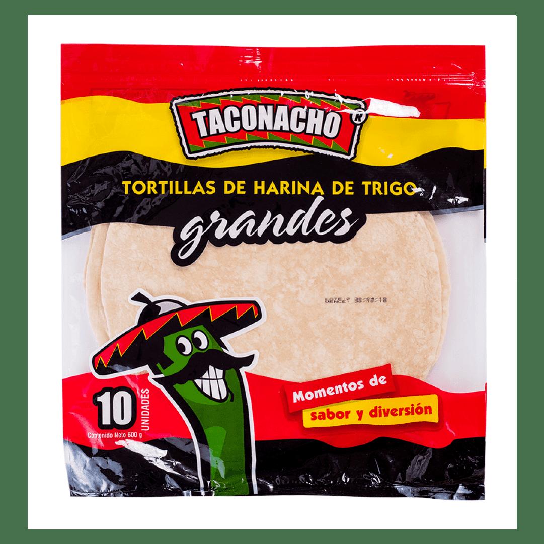 Tortilla De Harina Taconacho 10 Und
