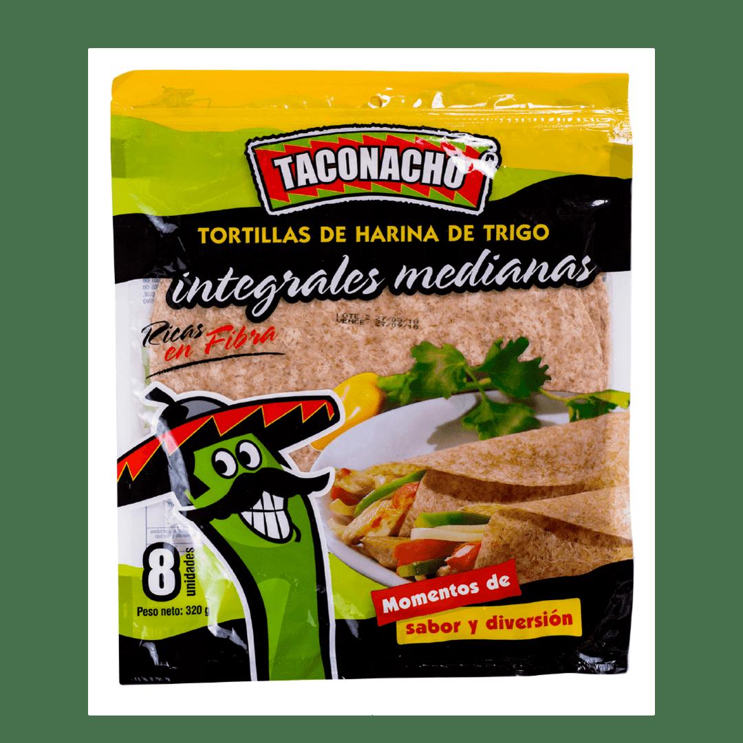 Tortilla Integral Taconacho 8 Und