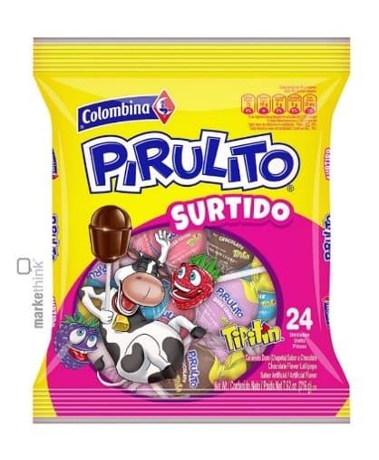 Dulce Pirulito X 24 Und Surtido 216 G