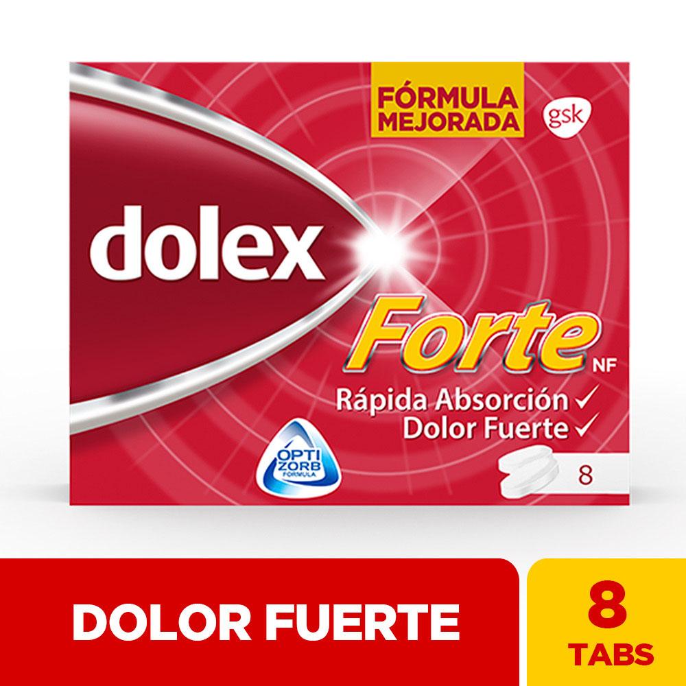Dolex Forte Optizorb 8 Tabletas