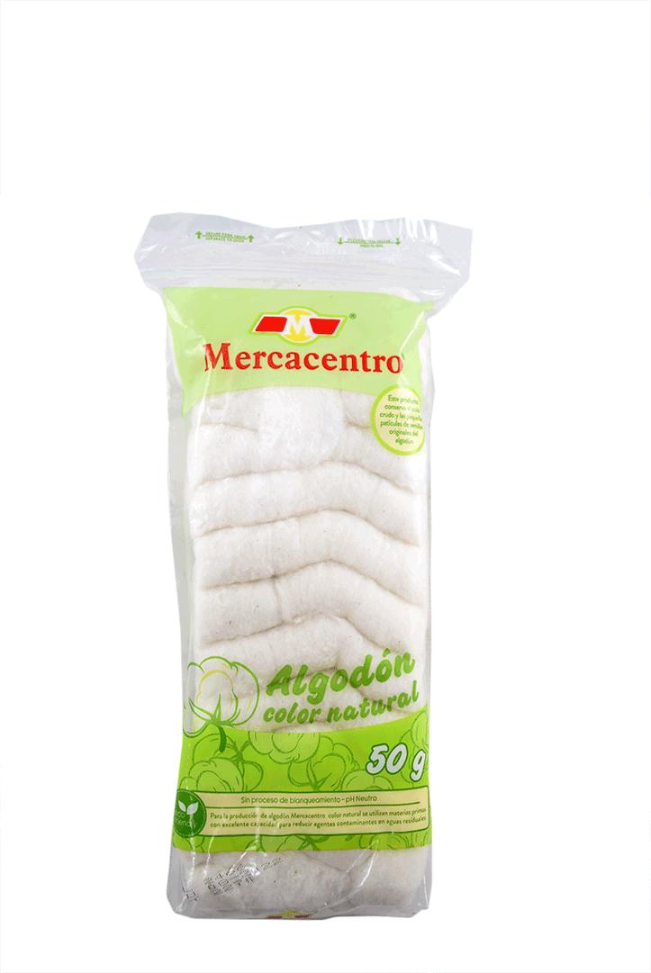 Algodón Mercacentro Ecológico 50 Und