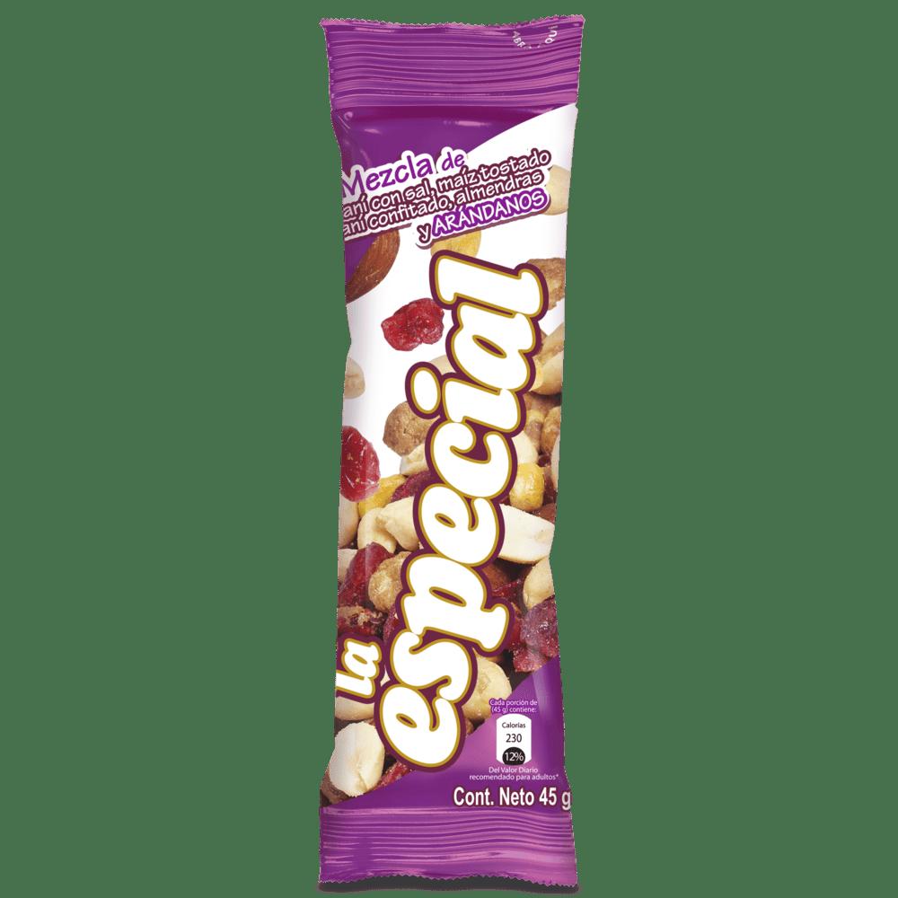 Maní La Especial Arándanos 45 G