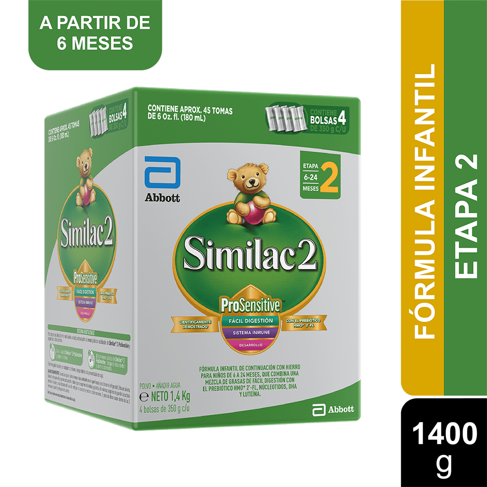 Similac 2 Caja 1400 G
