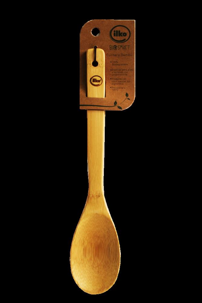 Cuchara Ilko Bambu 1 Und