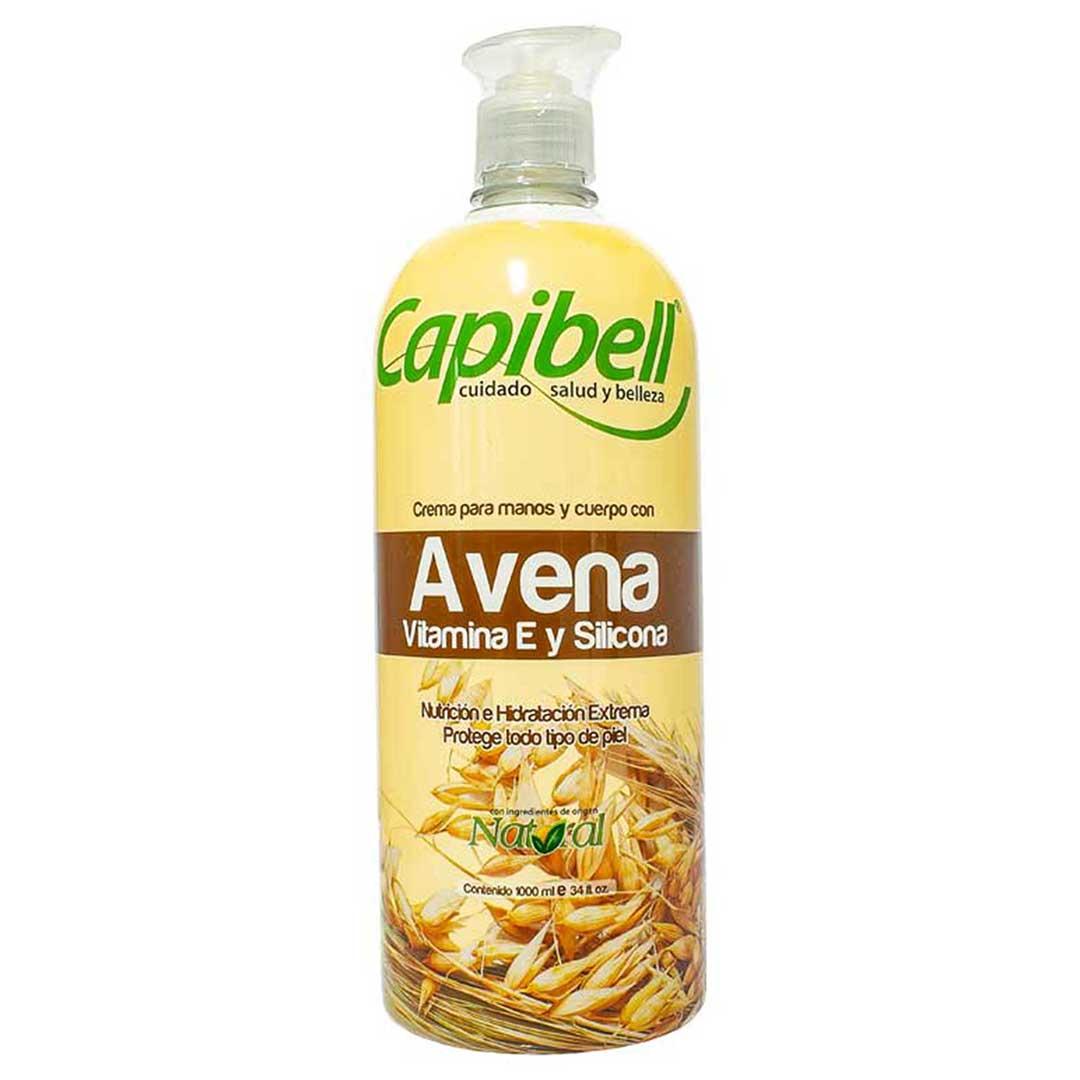 Crema Corporal Capibell Avena 1000 Ml
