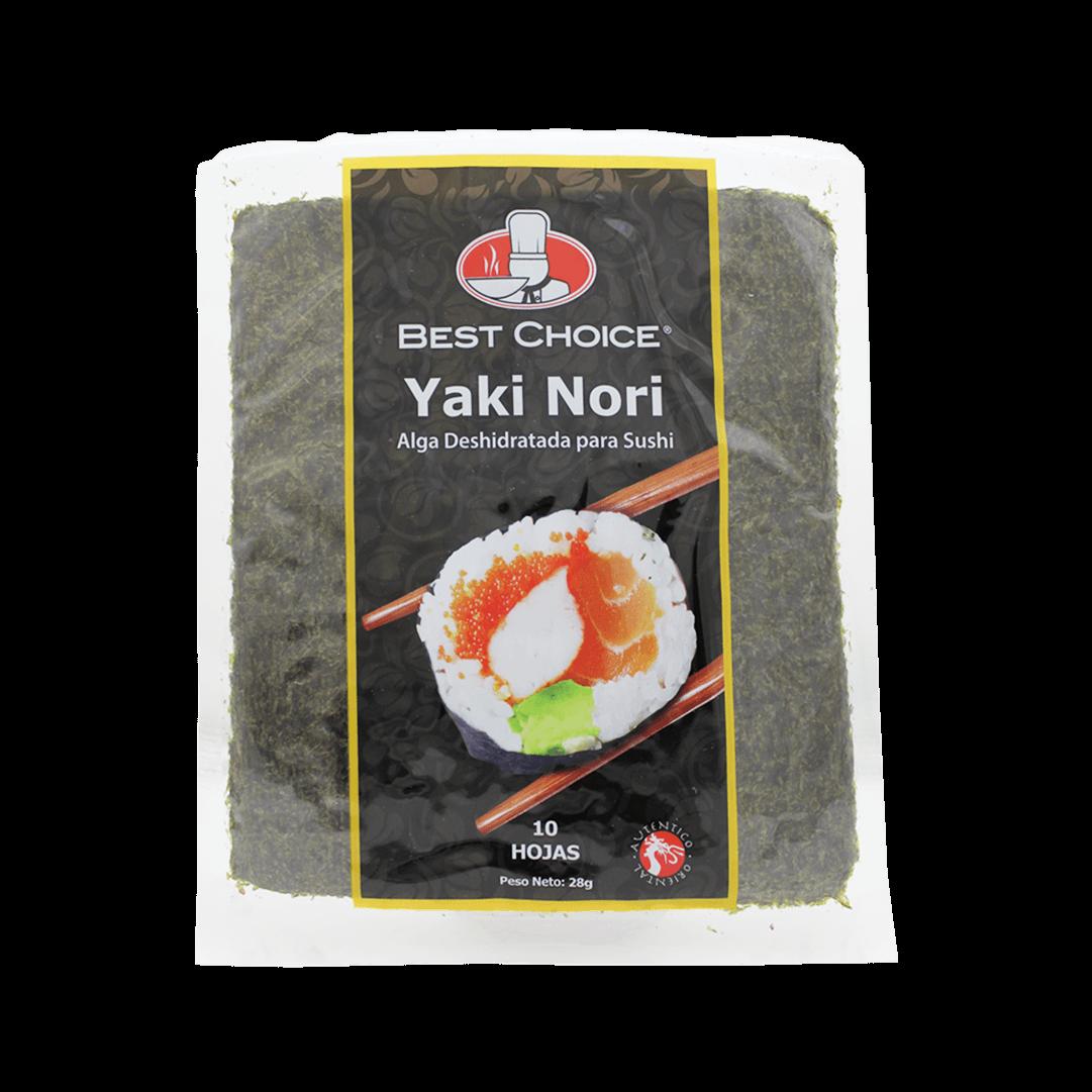 Yaki Nori Best Choise Algas Para Sushi 10 Und