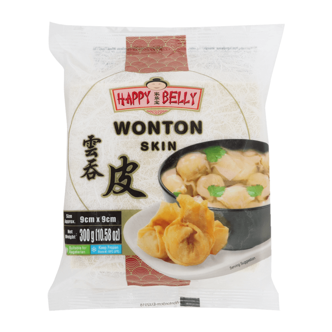 "Wonton Happy Belly 9"" 300 G"