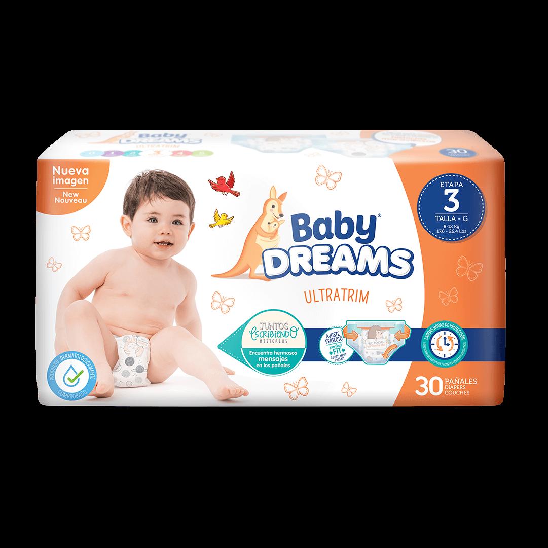Pañal Baby Dreams Ultratim Grande X 30 Und