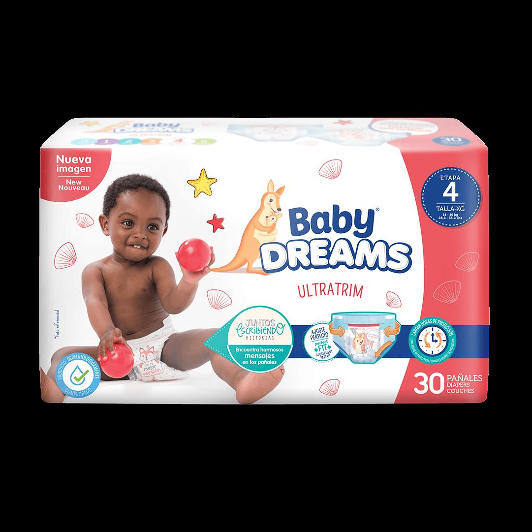 Pañal Baby Dreams Ultratim Extragrande X 30 Und
