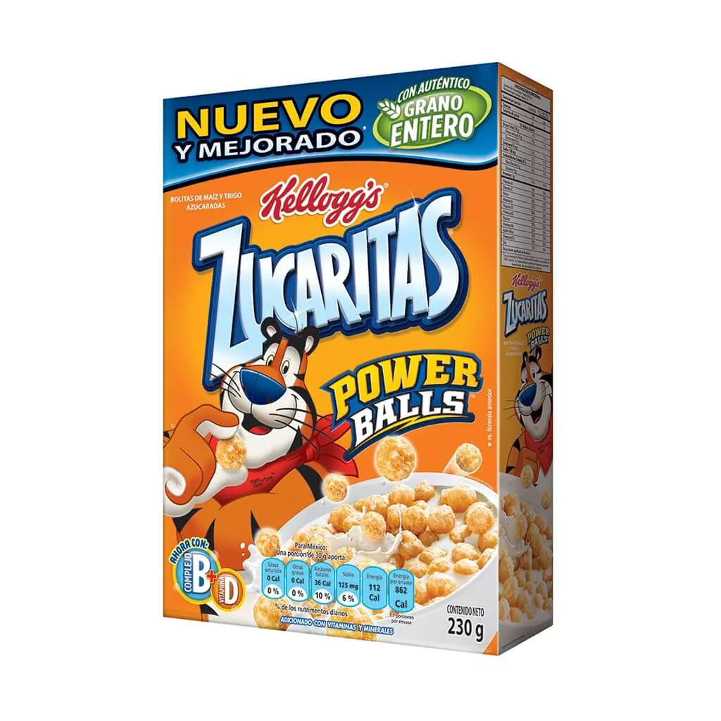 Cereal Zucaritas Kellogs Power Balls 230 G