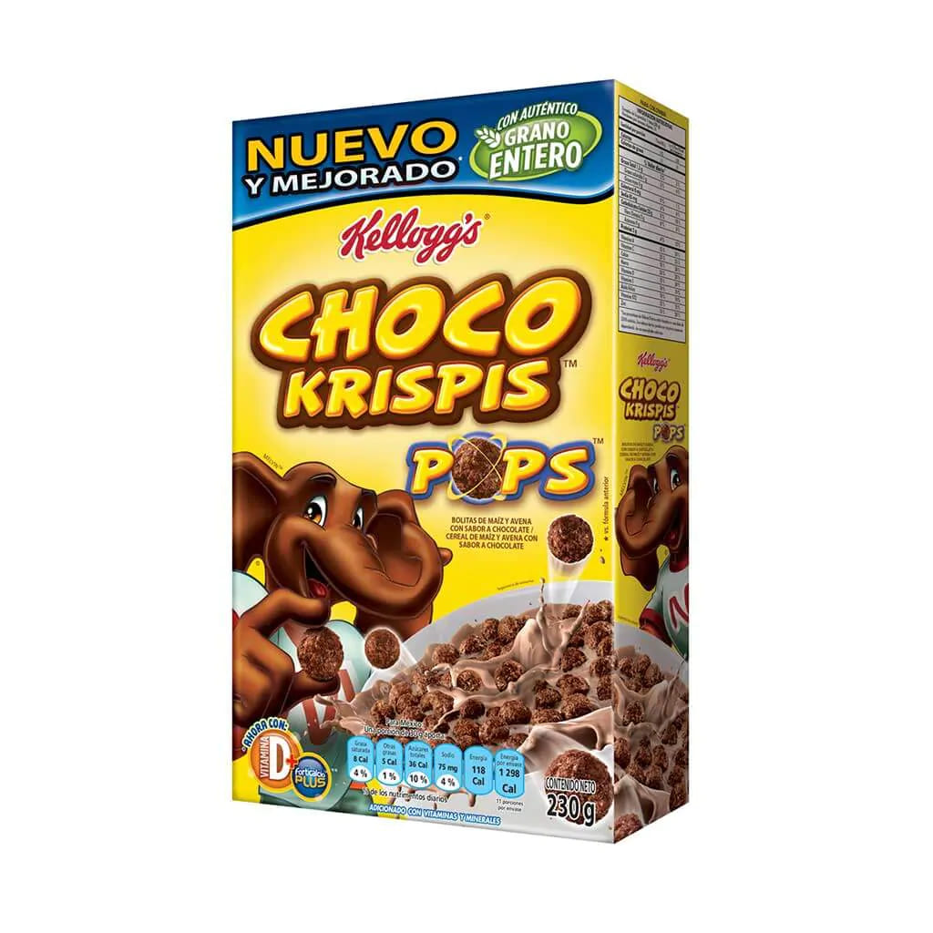 Cereal Choco Krispis Pops Kellogs 230 G