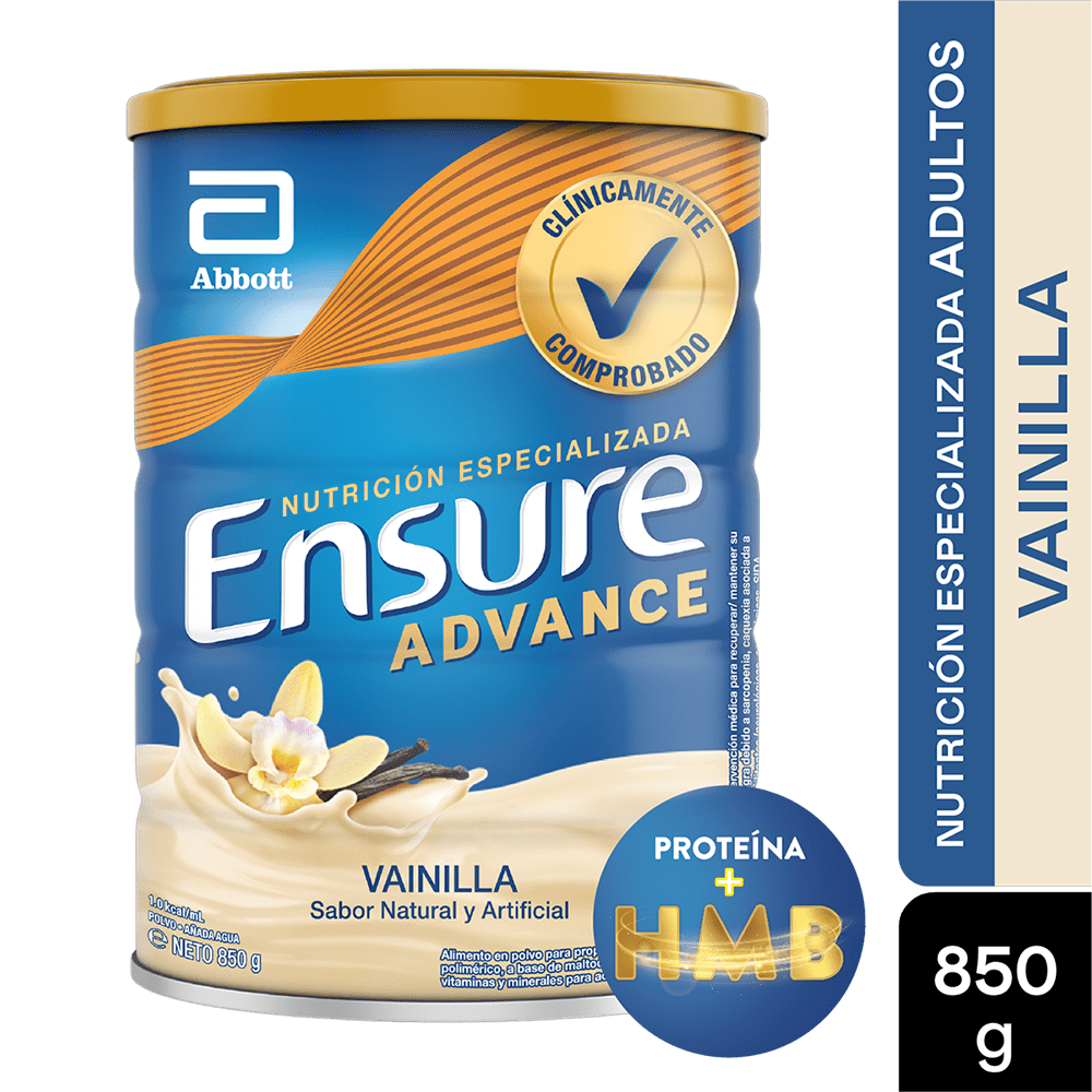 Ensure Advance Vainilla 850 G