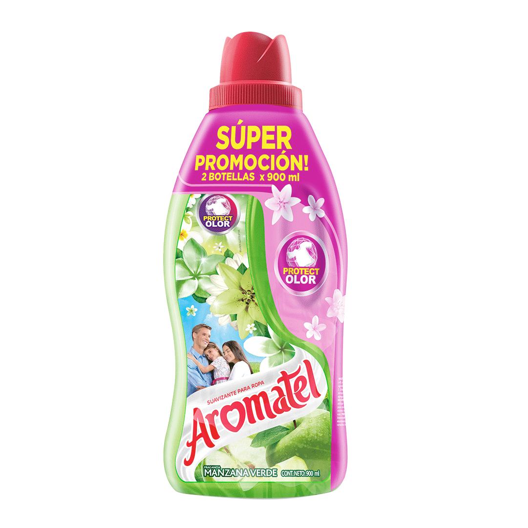 Suavizante Aromatel Manzana 2X 900 Ml