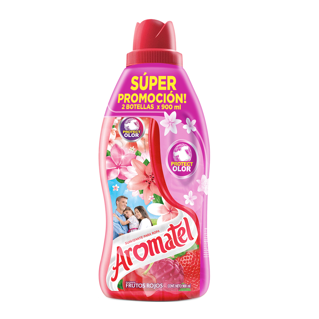 Suavizante Aromatel Frutos Rojos 2X 900 Ml