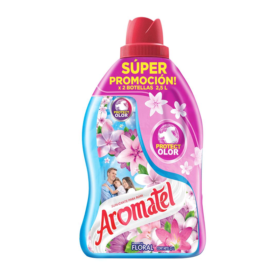 Suavizante Aromatel Floral  2X 2500 Ml